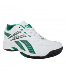 Vostro 2112 White Green Men Sports Shoes VSS0083